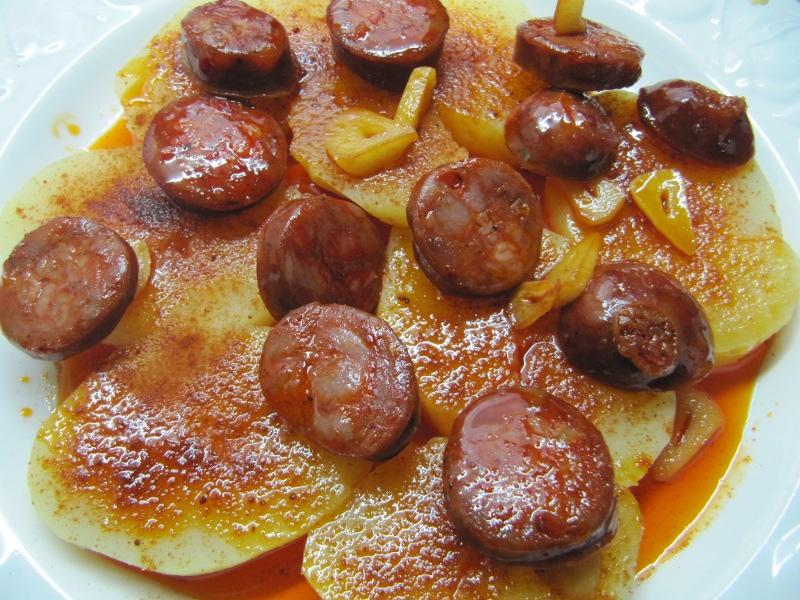 Entrantes ensaladas patatas verduras y legumbres for Corzo con patatas